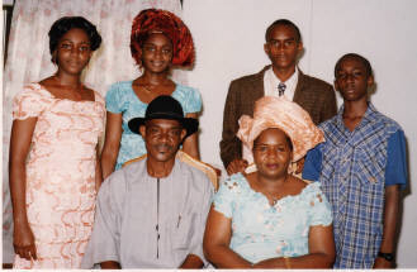 Typical Igbo Family with Extended Family Support System